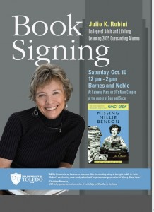 Julie Rubini book signing