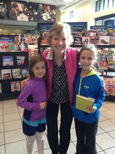 Julie with Nancy Drew fans